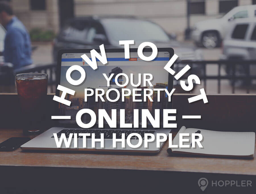 how to list your property online with hoppler