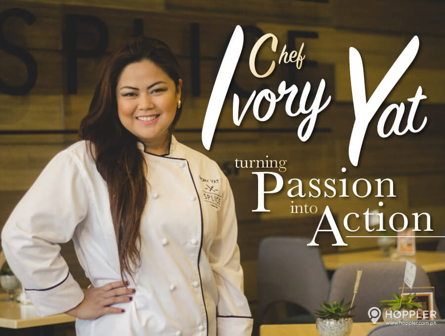 turning passion into action chef ivory yat