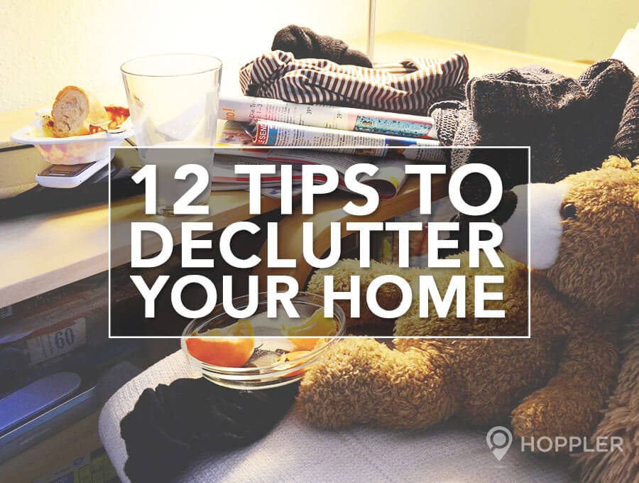 12 tips to declutter your home