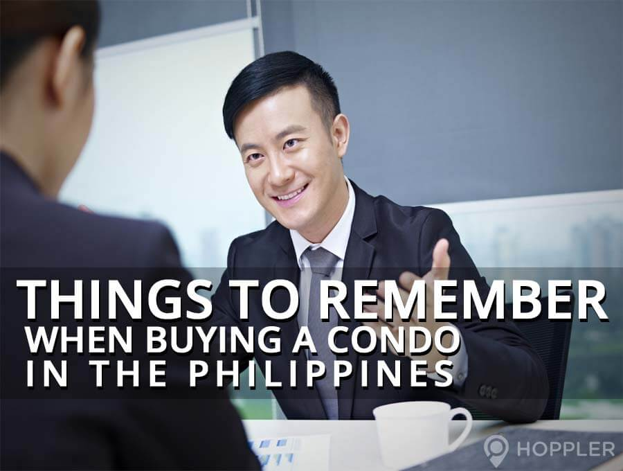 things to remember when buying a condo in the philippines