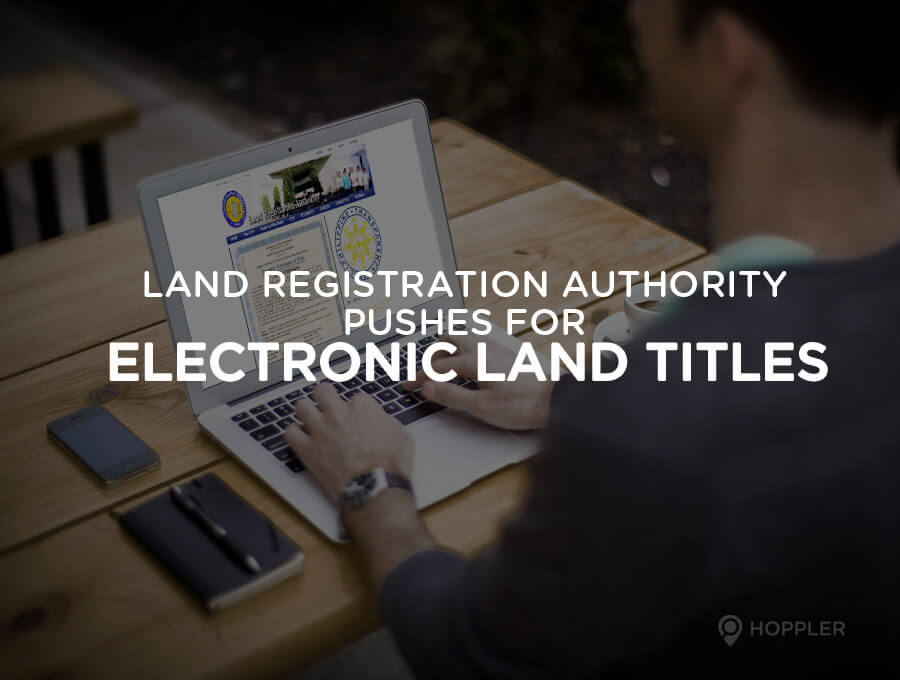 land registration authority pushes for electronic land titles