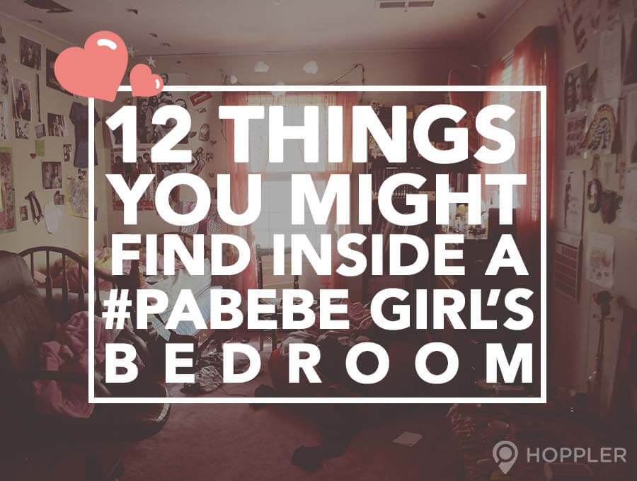 12 things you might find inside a pabebe girl s bedroom. Black Bedroom Furniture Sets. Home Design Ideas