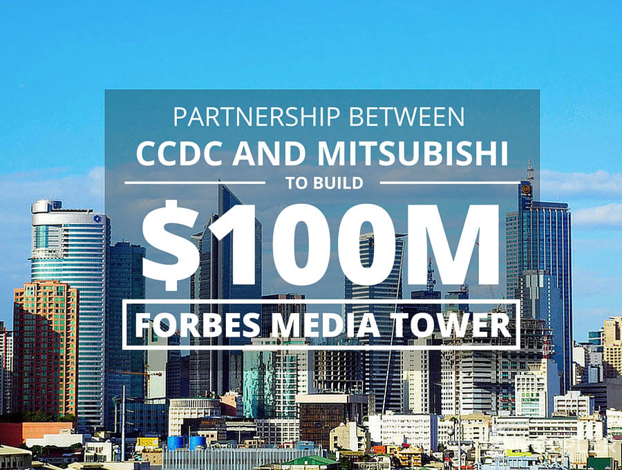 Partnership Between CCDC, Mitsubishi to Build $100M Forbes Media Tower