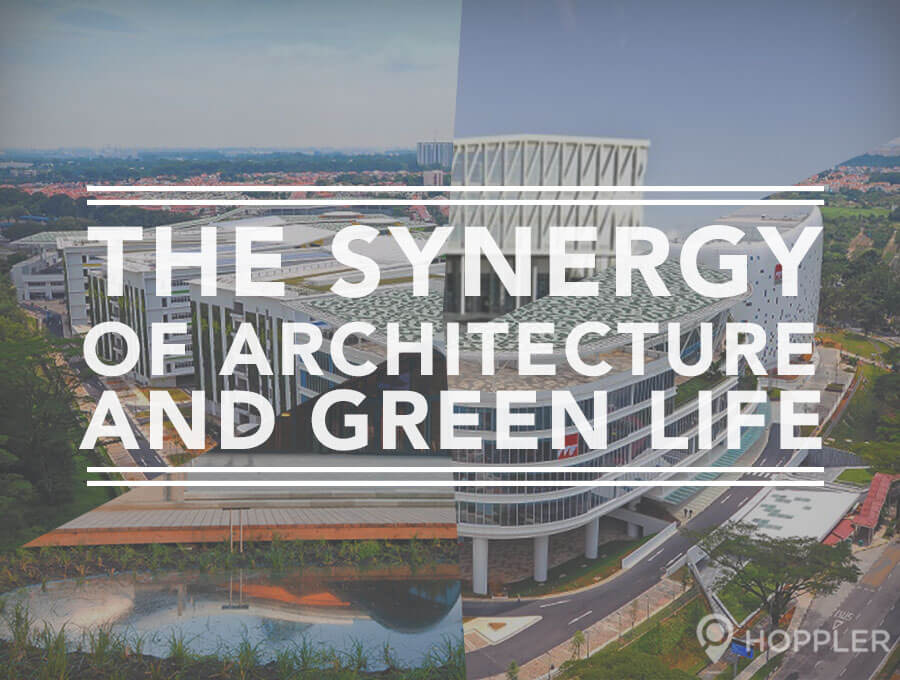 The Synergy of Architecture and Green Life