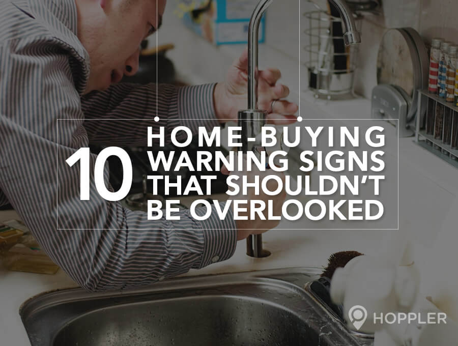 10 Home-Buying Warning Signs That Shouldn't be Overlooked