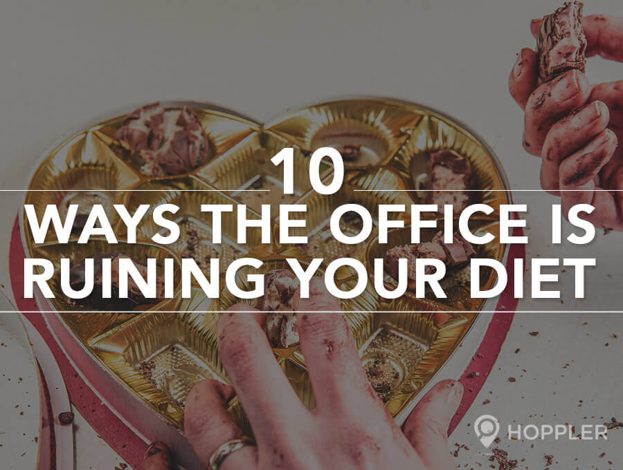 10 Ways the Office is Ruining Your Diet