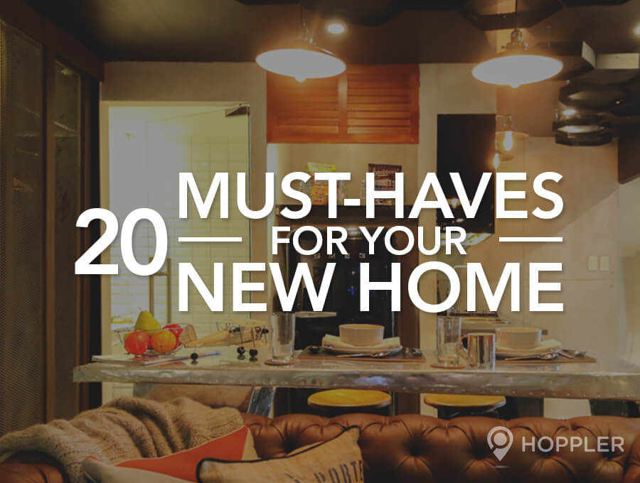 20 Must-Haves For Your New Home