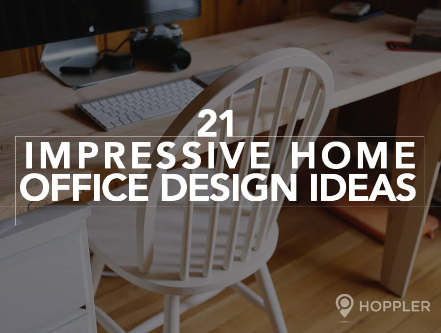 21 Impressive Home Office Design Ideas