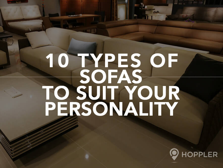 10 Types of Sofas that Suit Your Personality