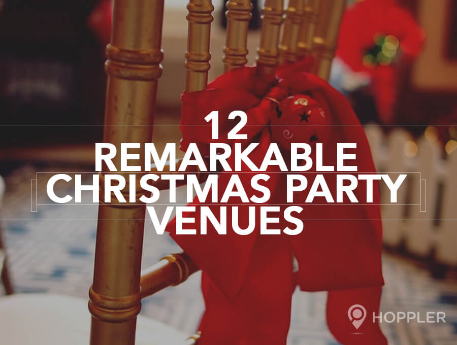 12 Remarkable Christmas Party Venues