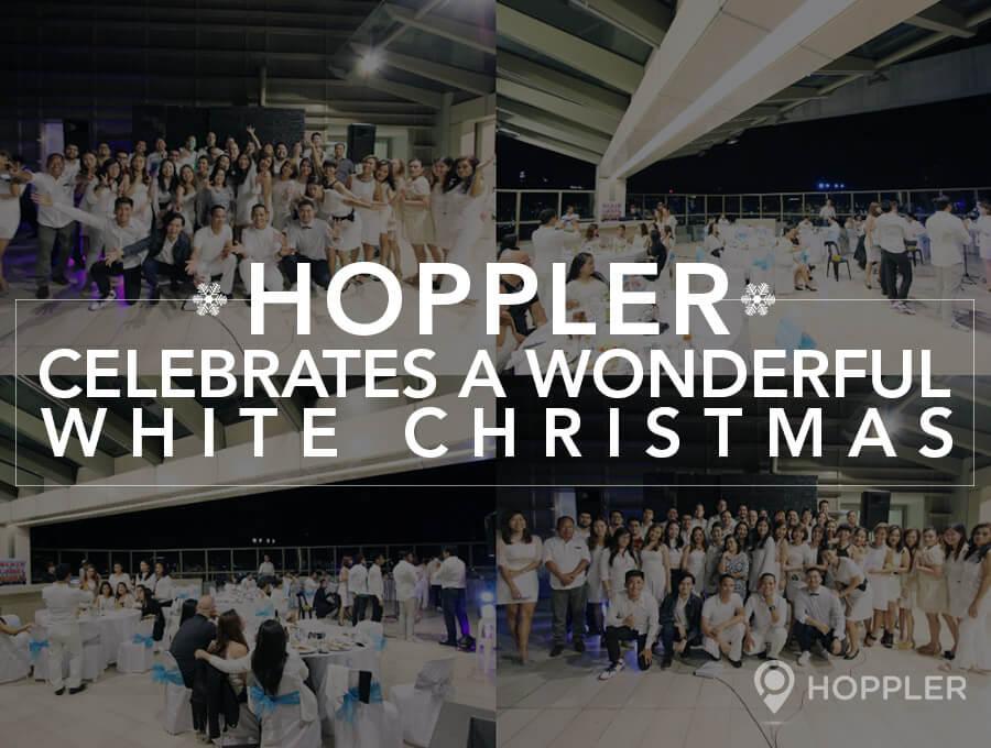 Hoppler Celebrates A Wonderful White Christmas