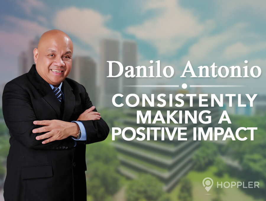 Danilo Antonio: Consistently Making a Positive Impact