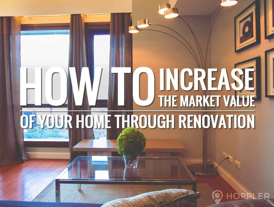 how to increase the market value of your home through