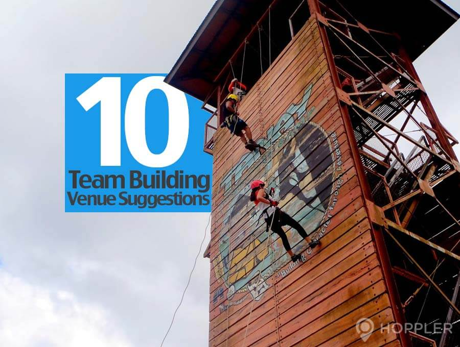 10 team building venue suggestions