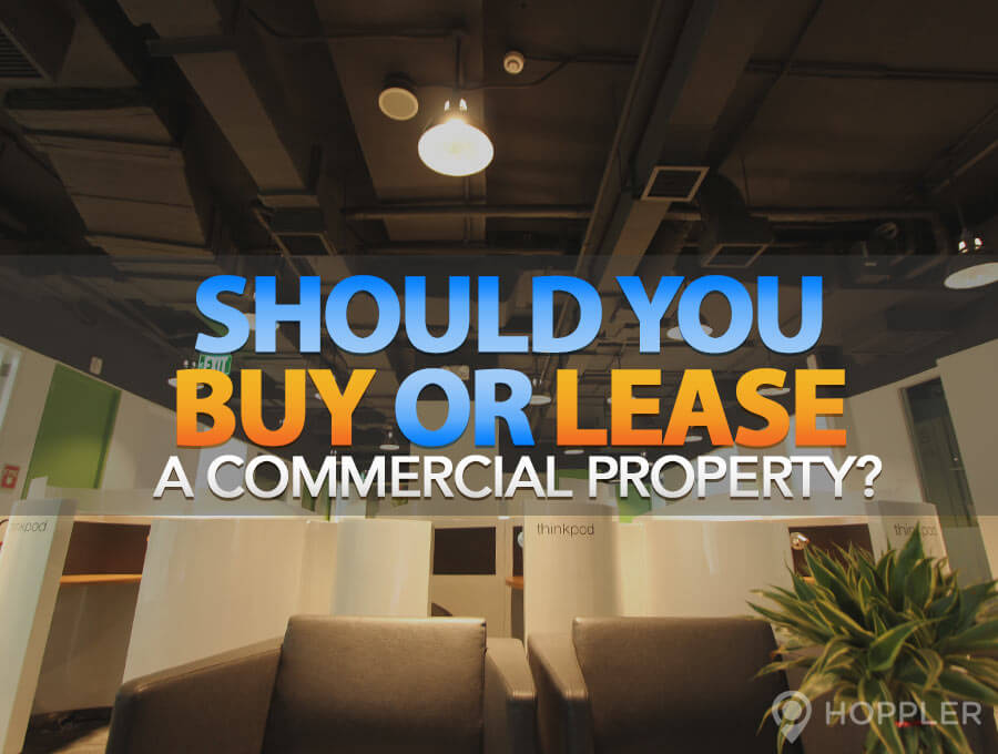 should you buy or lease a commercial property