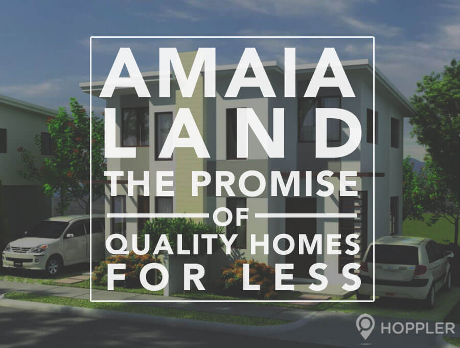 amaia land the promise of quality homes for less