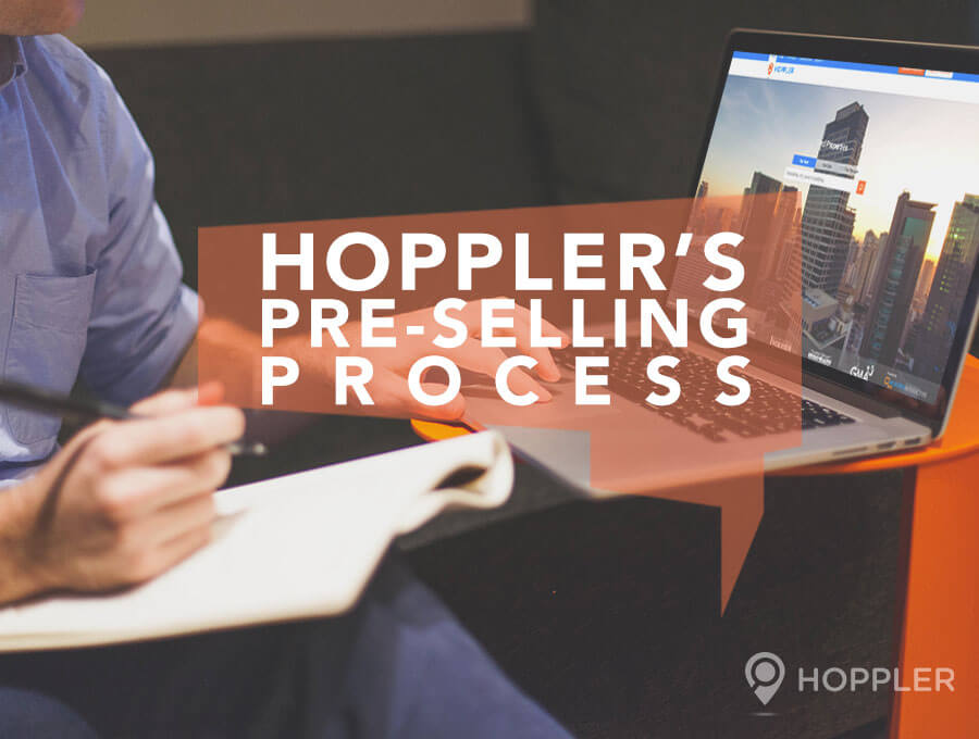 hopplers pre selling process hoppler