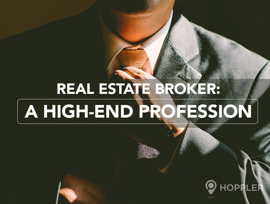 real estate broker a high end profession hoppler