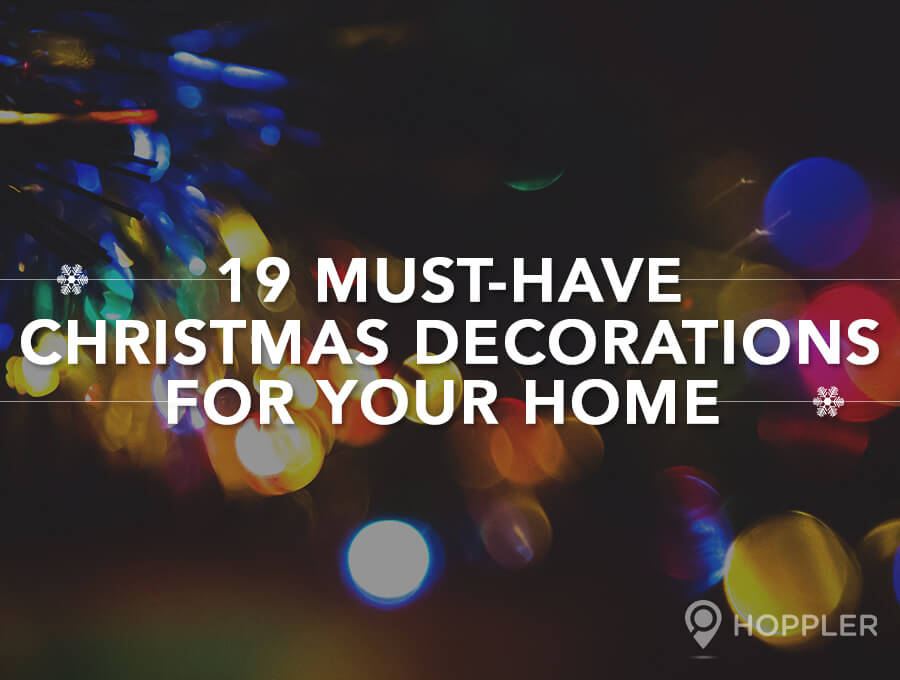 19 must have christmas decorations for your home