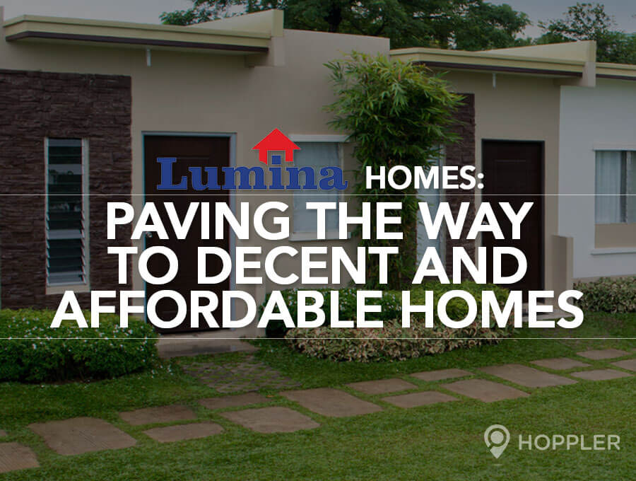 lumina homes paving the way to decent and affordable homes