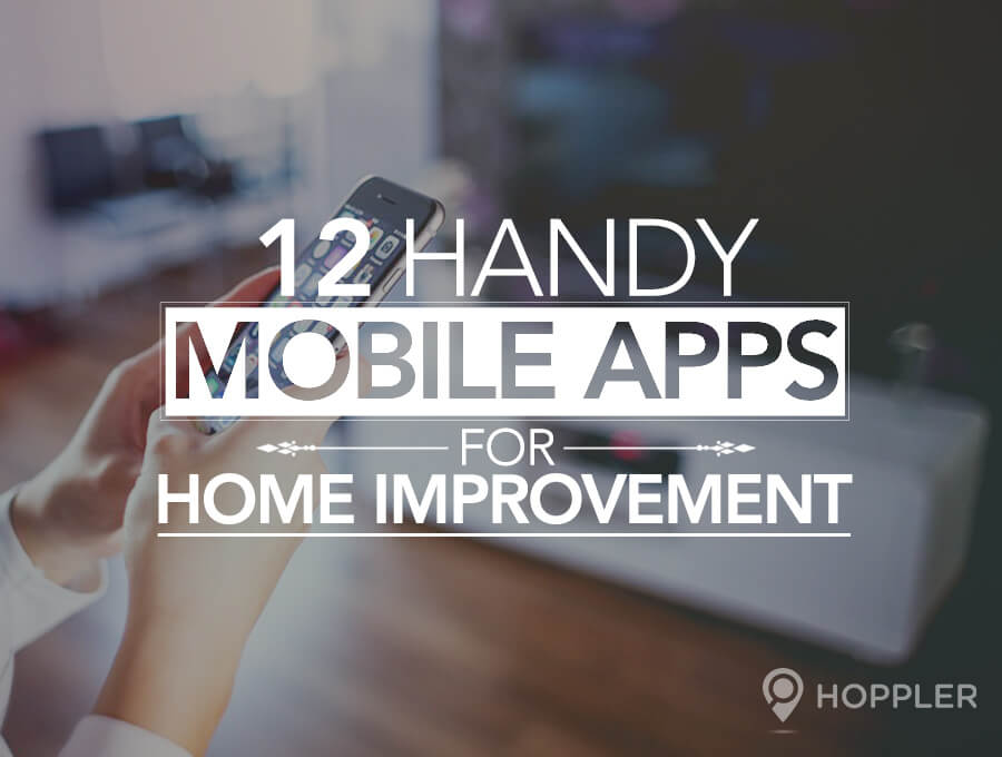 12 handy mobile apps for home improvement