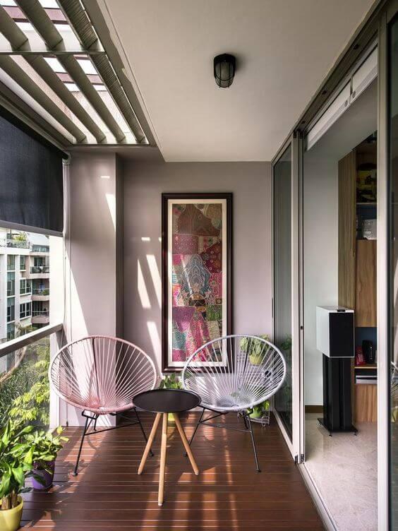 Verander je balkon in een echte plek om even te relaxen