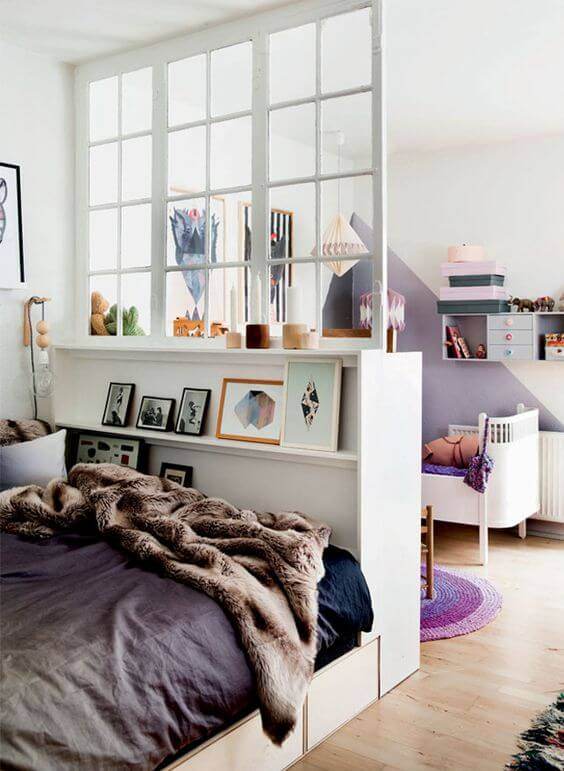 bedroom divider. Room Divider  38 46 Smart Ideas For Tiny Spaces Real Estate Blog
