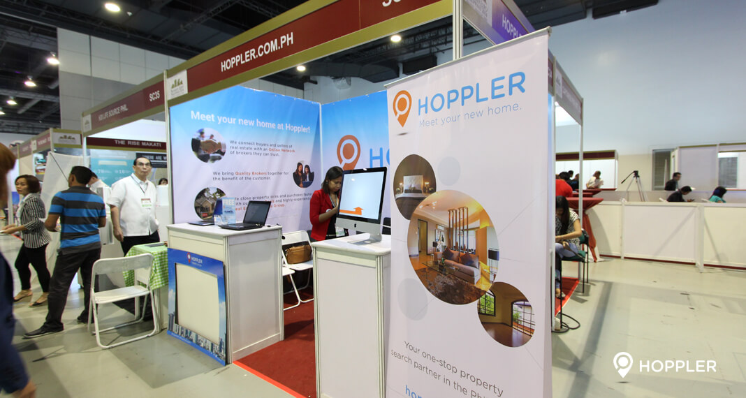 Property Exhibition Booth : Hoppler wins most visited booth award in property expo